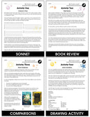 A Wrinkle in Time - BONUS WORKSHEETS