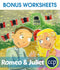 Romeo & Juliet - BONUS WORKSHEETS
