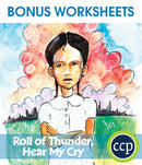Roll of Thunder, Hear My Cry - BONUS WORKSHEETS