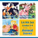 Animal Stories Lit Kit Set - Gr. 3-4