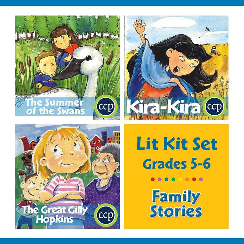 Family Stories Lit Kit Set - Gr. 5-6