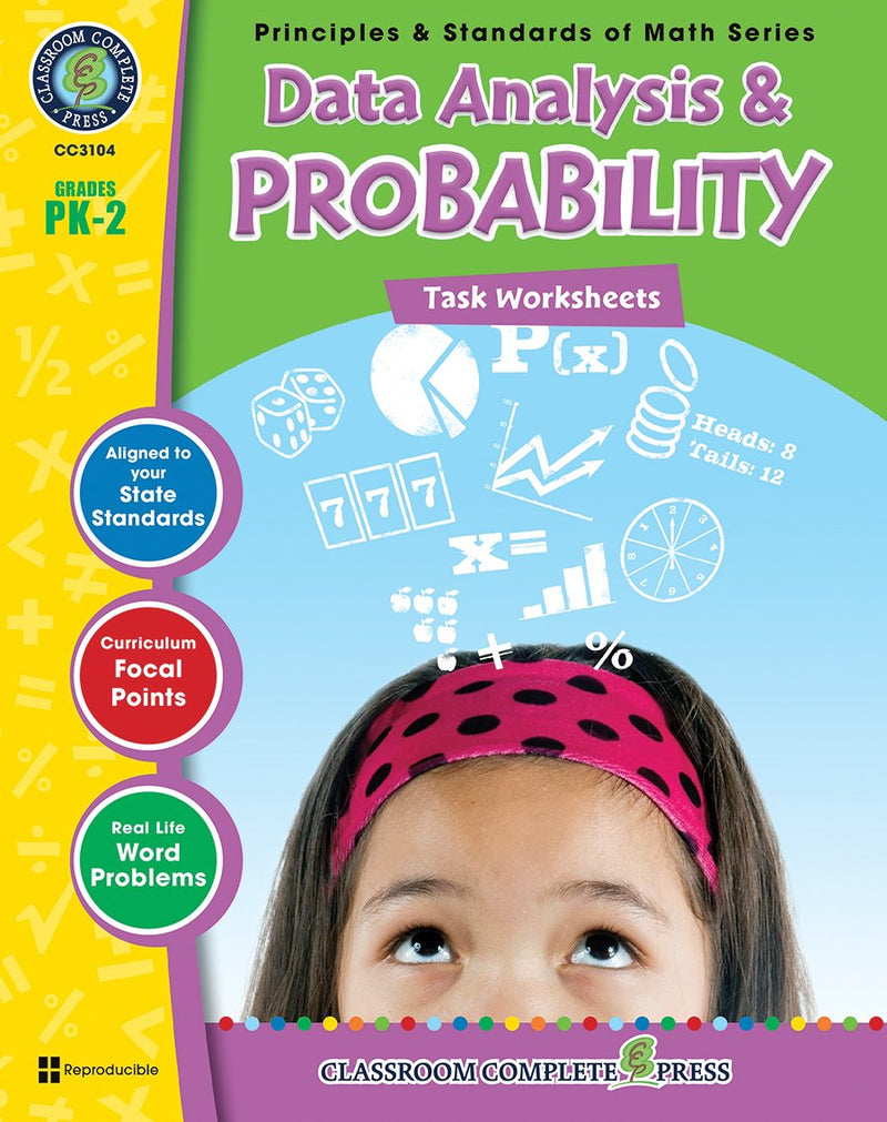 Data Analysis & Probability - Grades PK-2 - Task Sheets