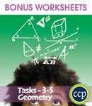 Geometry - Task Sheets Gr. 3-5 - BONUS WORKSHEETS