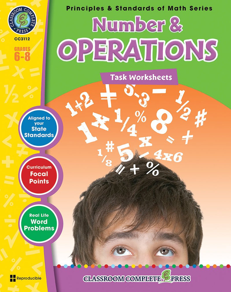 Number & Operations - Grades 6-8 - Task Sheets