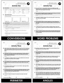 Measurement - Task Sheets Gr. 6-8 - BONUS WORKSHEETS