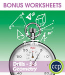 Geometry - Drill Sheets Gr. 3-5 - BONUS WORKSHEETS