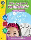 Data Analysis & Probability - Grades PK-2 - Task & Drill Sheets