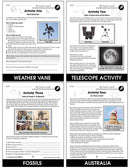 Hands-On STEAM - Earth & Space Science - BONUS WORKSHEETS