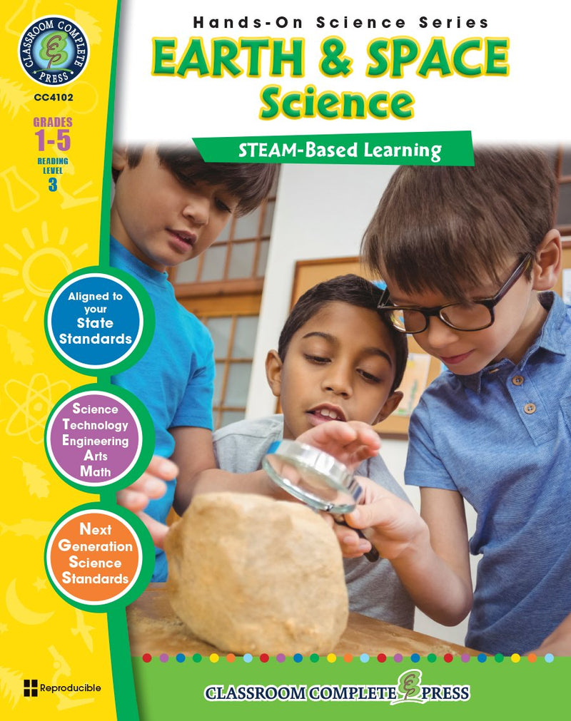 Hands-On STEAM - Earth & Space Science