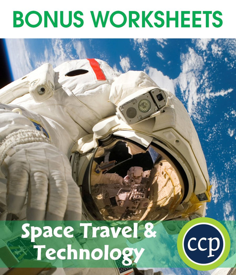 Space Travel & Technology - BONUS WORKSHEETS