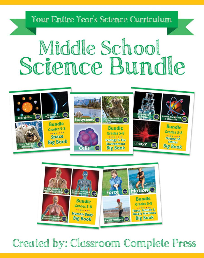 Middle School Science Bundle