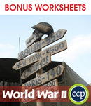 World War II - BONUS WORKSHEETS