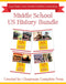Middle School US History Bundle