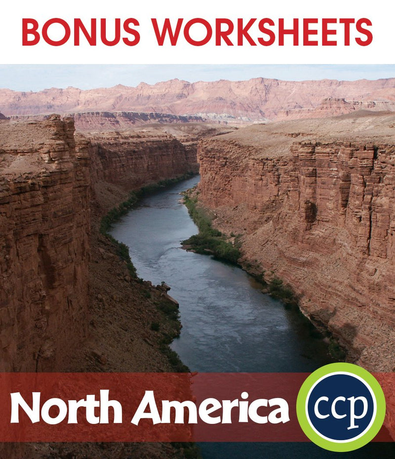 North America - BONUS WORKSHEETS