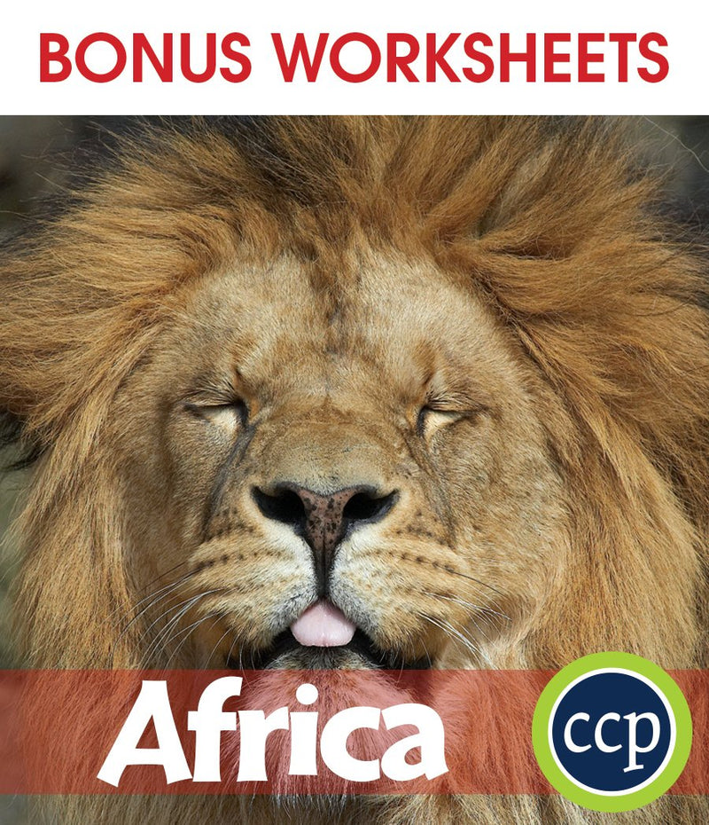 Africa - BONUS WORKSHEETS