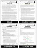 Global Warming: Reduction - BONUS WORKSHEETS