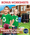 Reducing Your School's Carbon Footprint - BONUS WORKSHEETS