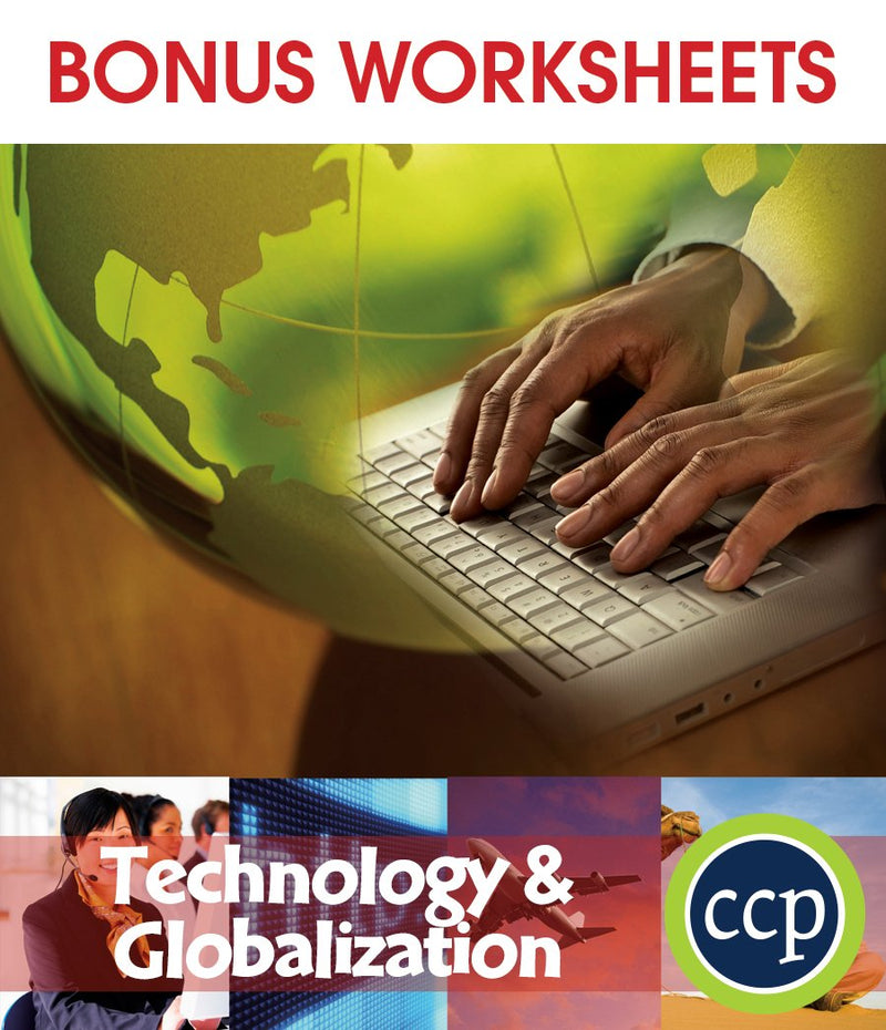 Technology & Globalization - BONUS WORKSHEETS