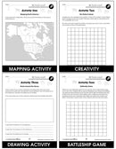 Mapping Skills with Google Earth Gr. PK-2 - BONUS WORKSHEETS