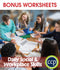 Daily Social & Workplace Skills - BONUS WORKSHEETS