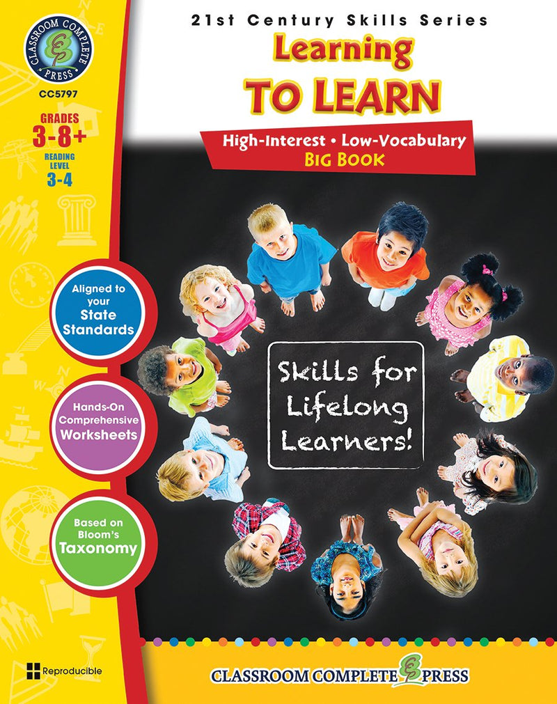 21st Century Skills - Learning to Learn Big Book