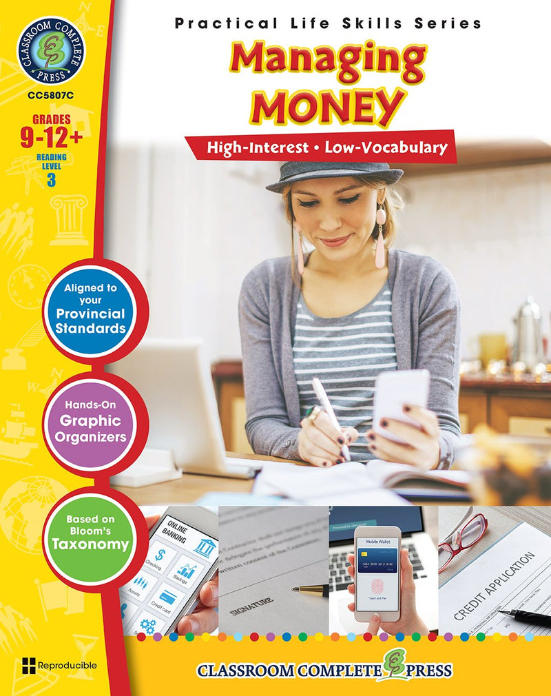 Practical Life Skills - Managing Money - Canadian Content