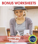 Practical Life Skills - Managing Money - BONUS WORKSHEETS