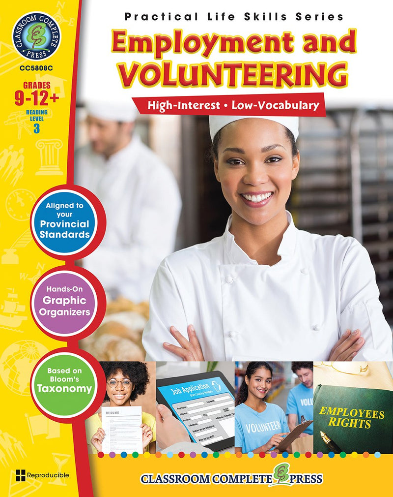 Practical Life Skills - Employment & Volunteering - Canadian Content