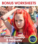 Gender Equality & Inequality - Canadian Content - BONUS WORKSHEETS