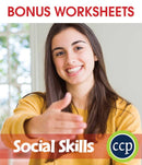 Real World Life Skills - Social Skills - BONUS WORKSHEETS