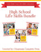 High School Life Skills Bundle