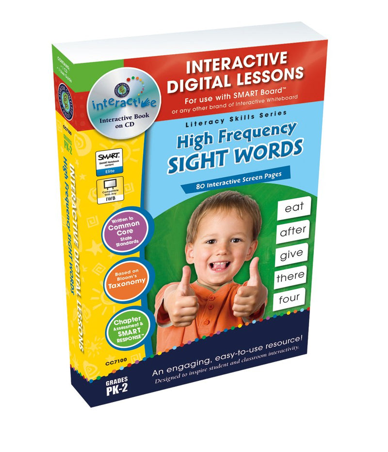 High Frequency Sight Words -