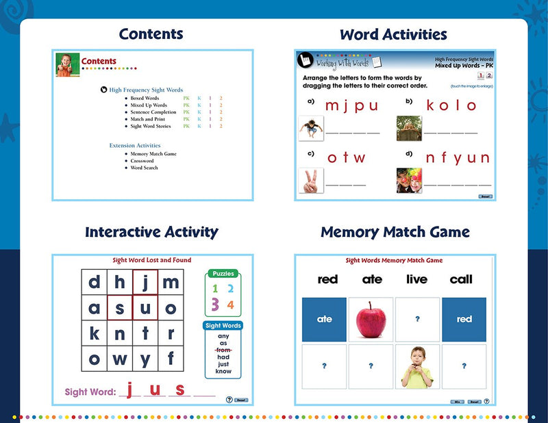 High Frequency Sight Words - DIGITAL LESSON PLAN
