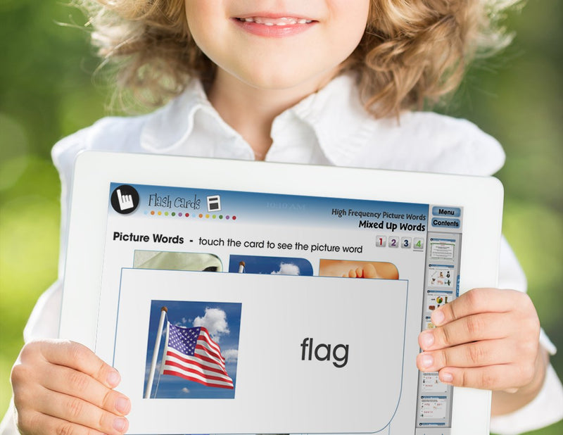 High Frequency Picture Words - DIGITAL LESSON PLAN