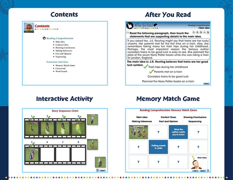 Reading Comprehension - DIGITAL LESSON PLAN