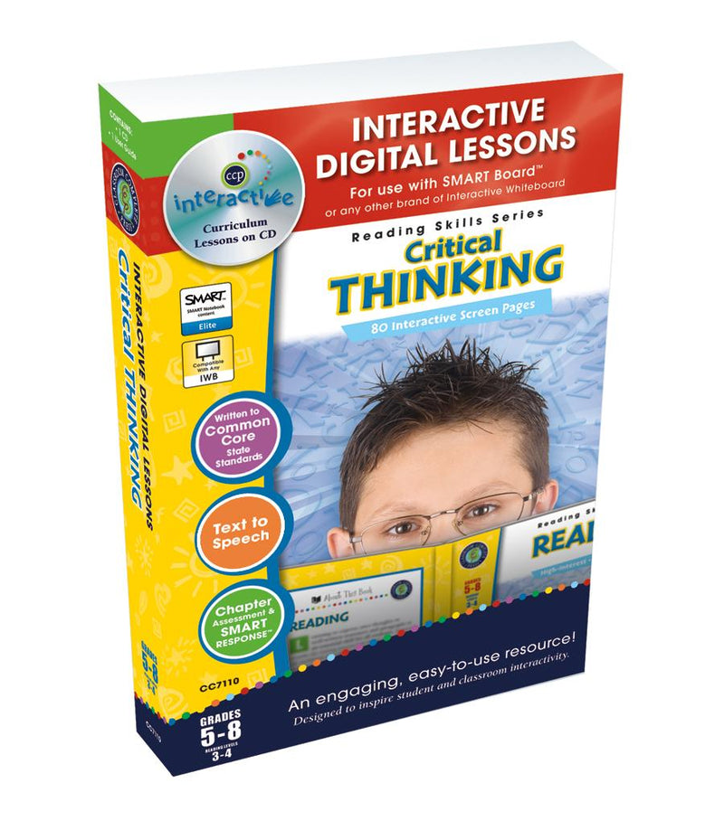 Critical Thinking - DIGITAL LESSON PLAN