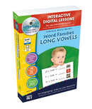 Word Families: Long Vowels -