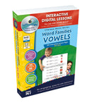 Word Families: Vowels Big Box - DIGITAL LESSON PLAN