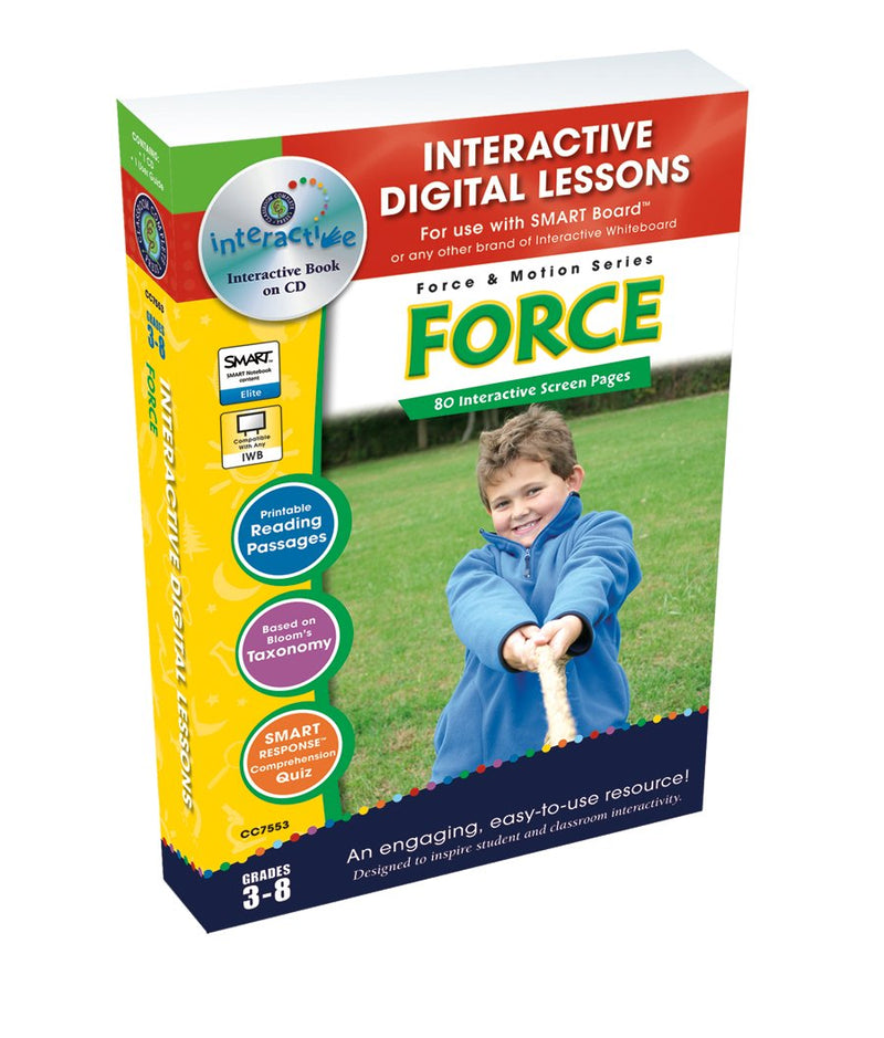 Force - DIGITAL LESSON PLAN