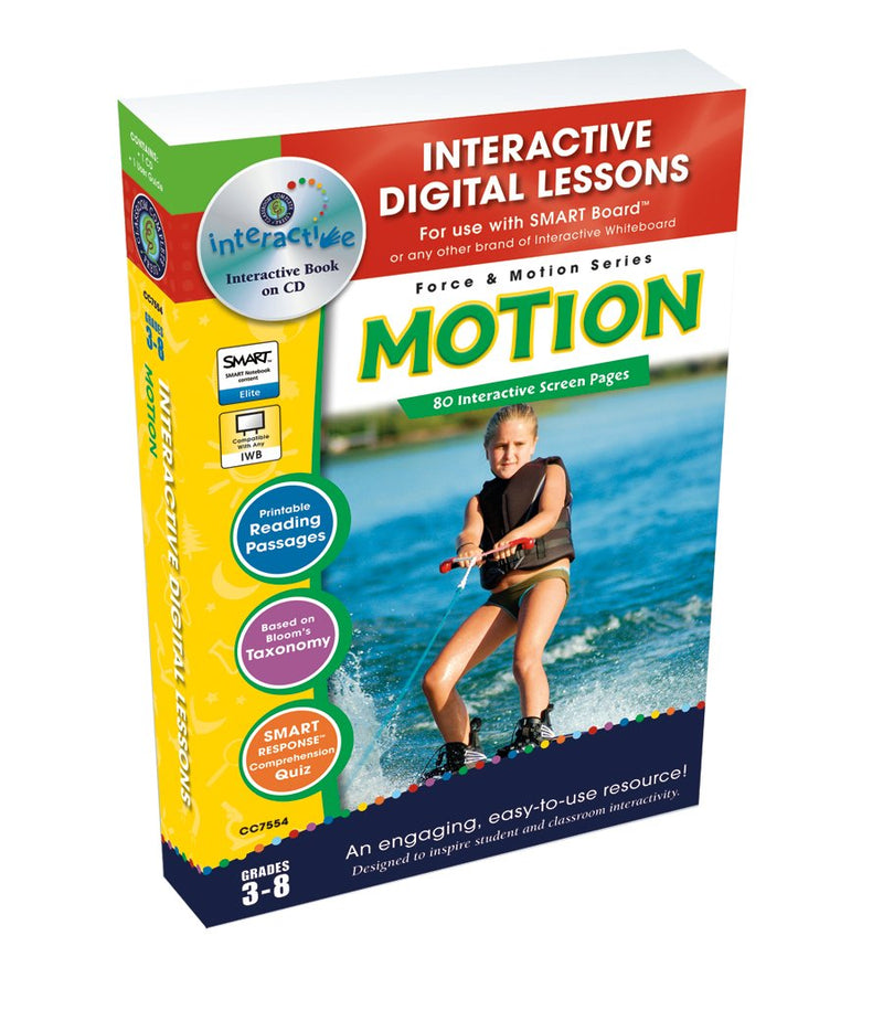Motion - DIGITAL LESSON PLAN