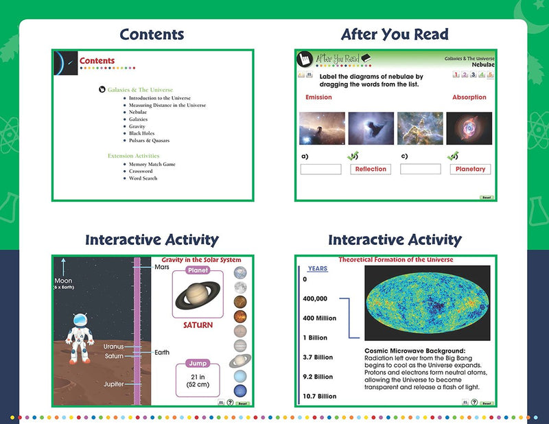 Galaxies & The Universe - DIGITAL LESSON PLAN