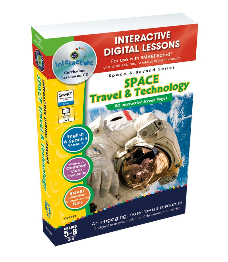 Space Travel & Technology - DIGITAL LESSON PLAN