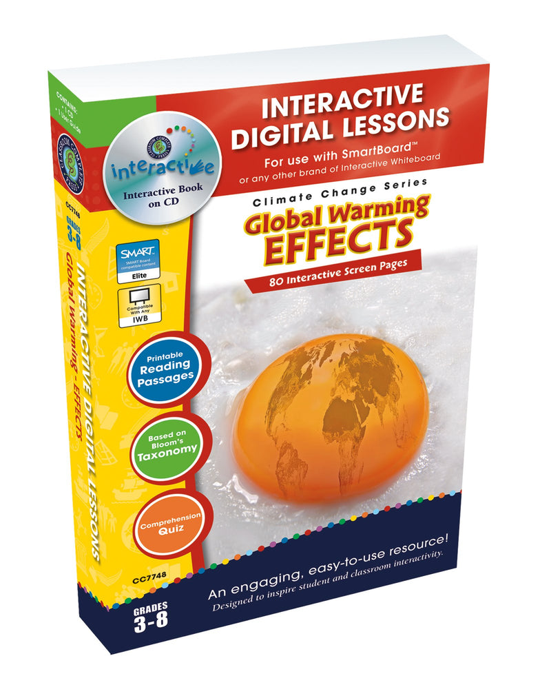 Global Warming: Effects - DIGITAL LESSON PLAN