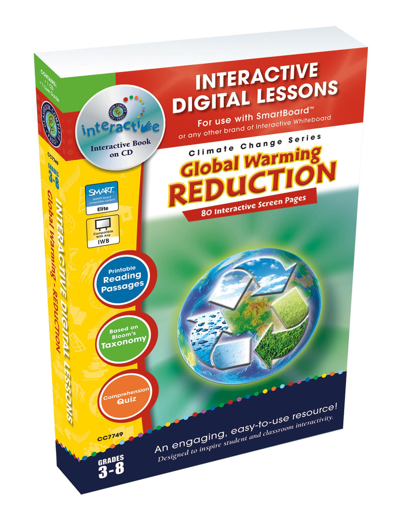 Global Warming: Reduction - DIGITAL LESSON PLAN