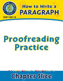 How to Write a Paragraph: Proofreading Practice
