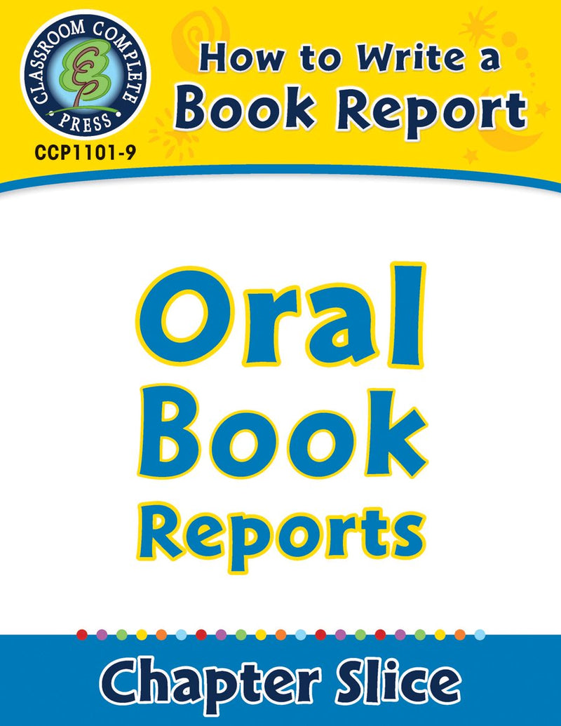 How to Write a Book Report: Oral Book Reports