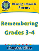 Reading Response Forms: Remembering Gr. 3-4