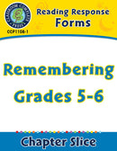 Reading Response Forms: Remembering Gr. 5-6