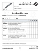 Reading Response Forms: Read and Review Gr. 5-6 - WORKSHEET