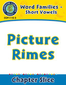 Word Families - Short Vowels: Picture Rimes